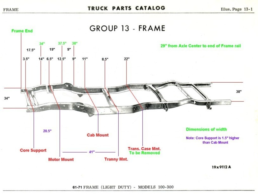 Diagram Of A 1950 Chevy Truck Frame Trusted Wiring Dodge 1990 Illustration U2022 55 Pickup Dimensions